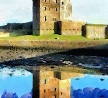 Beautiful Britain - Broughty Ferry Castle, Scotland by Dennis Melling