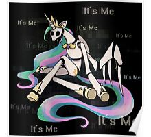 My Little Pony - MLP - FNAF - Celestia Animatronic Poster