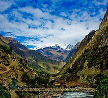 Inka Trail Start Bridge by Daniel  Archer