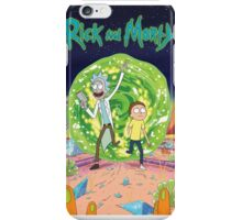 Rick and Morty Main Theme iPhone Case/Skin
