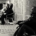 The Beggar and the Cellists by Peter Tachauer