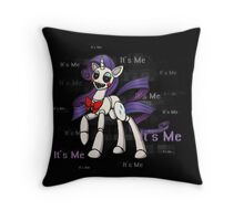 My Little Pony - MLP - FNAF - Rarity Animatronic Throw Pillow