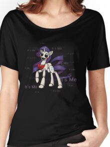 My Little Pony - MLP - FNAF - Rarity Animatronic Women's Relaxed Fit T-Shirt