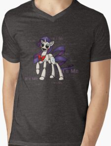 My Little Pony - MLP - FNAF - Rarity Animatronic Mens V-Neck T-Shirt