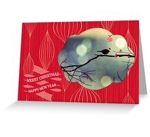 a very tweety christmas Greeting Card