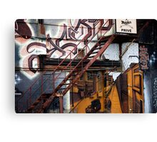 Stare Stair Canvas Print