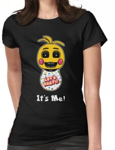 Five Nights at Freddy's - FNAF 2 - Toy Chica - It's Me! Womens Fitted T-Shirt