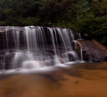 Wentworth Falls (Top Falls) 2011 by STEPHEN GEORGIOU PHOTOGRAPHY