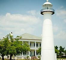 Biloxi Lighthouse & Visitor's Center by Jonicool
