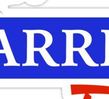 Run Warren Run Sticker