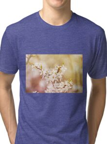 cherry tree young blossoms Tri-blend T-Shirt