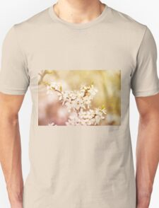 cherry tree young blossoms Unisex T-Shirt