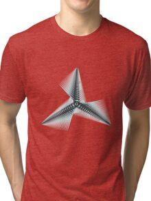 Seied - TriUFO - Burning Man 2011 Tri-blend T-Shirt