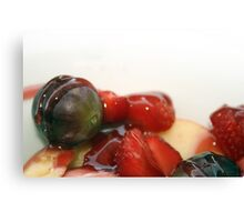 Mixed Fruit Dessert Canvas Print
