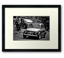 paris or bust Framed Print