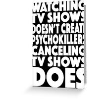 tv shows Greeting Card