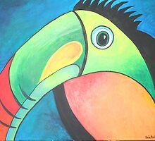 Bold Toucan by taiche