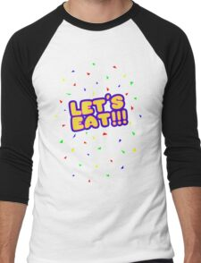 Five Nights at Freddy's - FNAF - Let's Eat Men's Baseball ¾ T-Shirt
