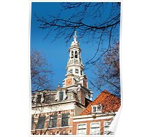 Keeping track of time and history... Zuiderkerk Tower Amsterdam Poster