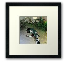 Green Earth Maiden Framed Print
