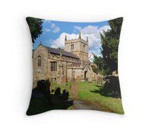 St John THe Baptist Church (AD 1000) Throw Pillow