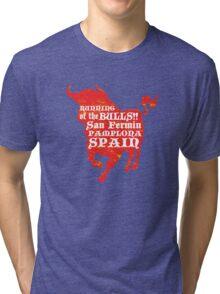 Running of the Bulls Tri-blend T-Shirt