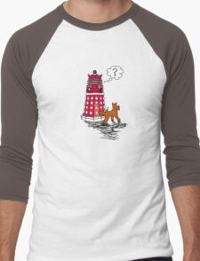 DALEK RELIEF Men's Baseball ¾ T-Shirt