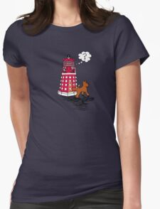DALEK RELIEF Womens Fitted T-Shirt