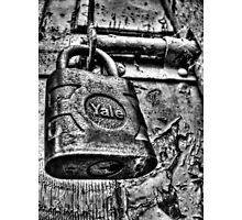 Random Lock Photographic Print