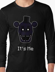 Five Nights at Freddy's - FNAF 2 - Shadow Freddy - It's Me Long Sleeve T-Shirt