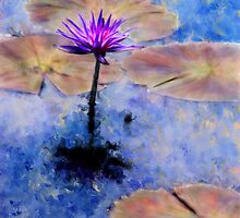 Lavender Waterlily by CrowningGlory