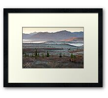 An Autumn Morning in Denali National Park Framed Print