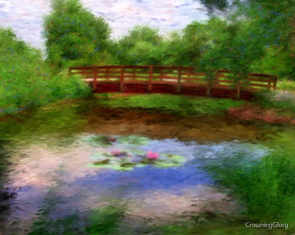 Monet's Bridge by CrowningGlory