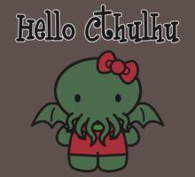 Hello Cthulhu! Baby Tee