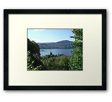 View of Loch Ness Framed Print