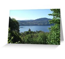 View of Loch Ness Greeting Card