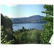 View of Loch Ness Poster