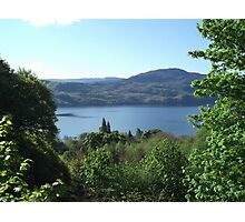 View of Loch Ness Photographic Print