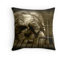 """Caged innocence..."" Throw Pillow"