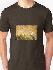 decorative reeds and yellow reflection  Unisex T-Shirt