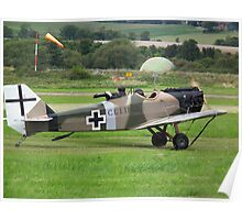 Junkers CL1(replica) Bowers Fly Baby 1A G-BUYU Poster