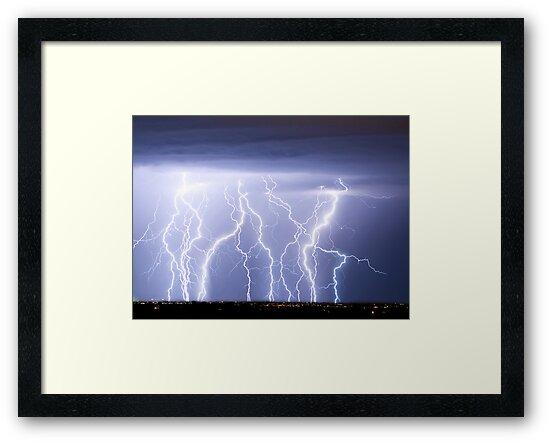Crazy Lightning Skies by Bo Insogna