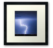 C2G Lightning Strike Framed Print