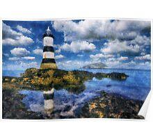 Penmon Lighthouse Poster