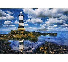 Penmon Lighthouse Photographic Print
