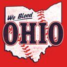 We Bleed Ohio - Logo Tribe Red by WeBleedOhio