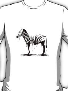 Zebra melting T-Shirt