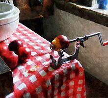 Apples and Apple Peeler by Susan Savad