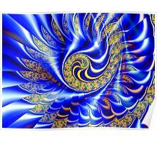 Three Layer Mandelbrot Illusion  (UF0417) Poster