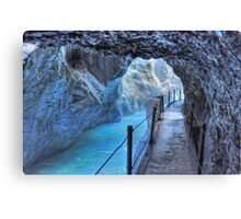 Colorful Way thru the Canyon Canvas Print